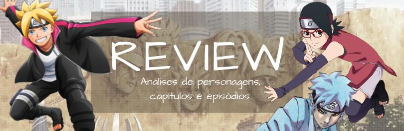 Review de Personagens e Mangá 2