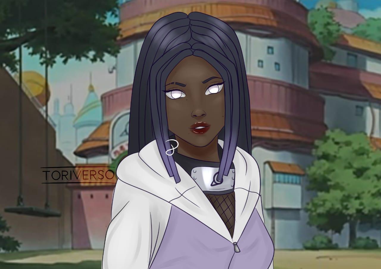 Black Animes - Hinata Hyuuga