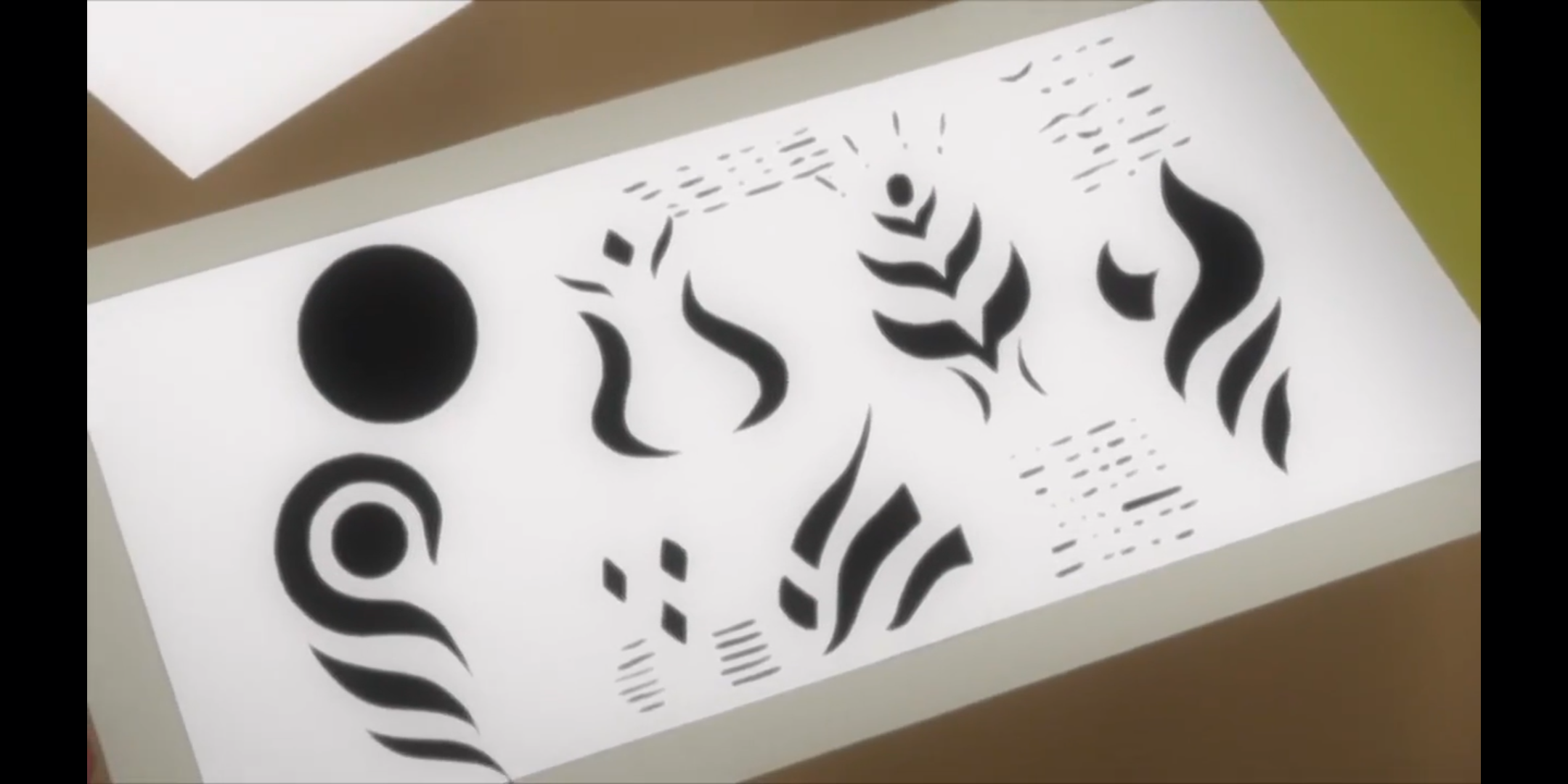 Episódio 176 de Boruto - Símbolos da organização Kara