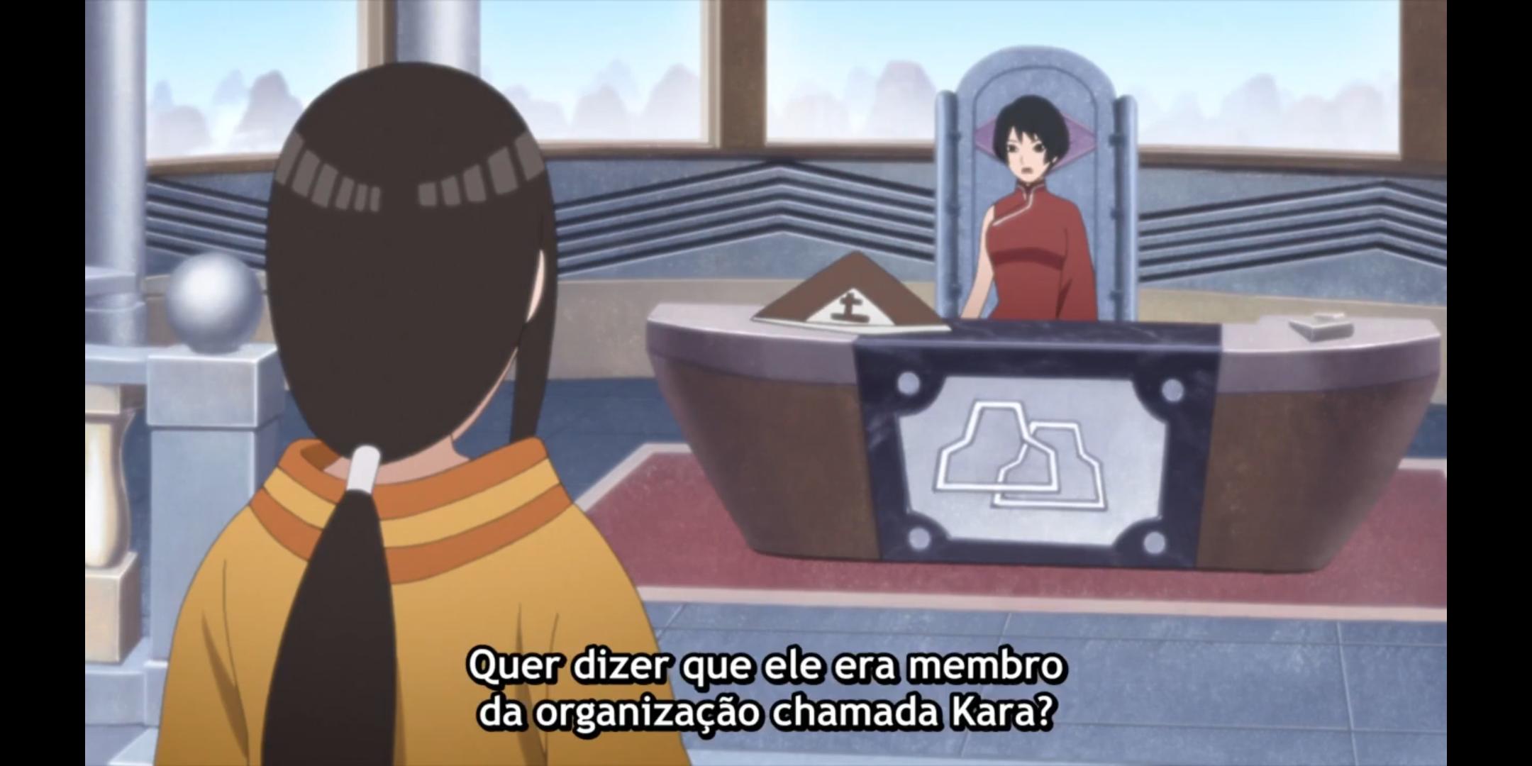 Episódio 176 de Boruto - Quarta Tsuchikage e Hanabi Hyuuga