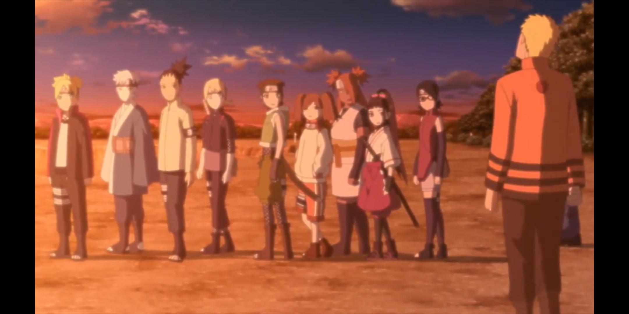 Episódio 176 de Boruto - Naruto e o Genins