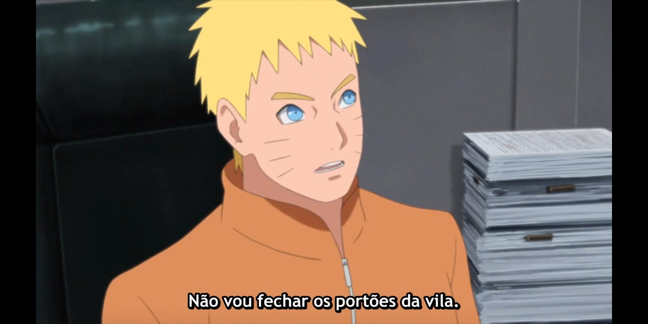 Episódio 176 de Boruto - Naruto e sua decisão