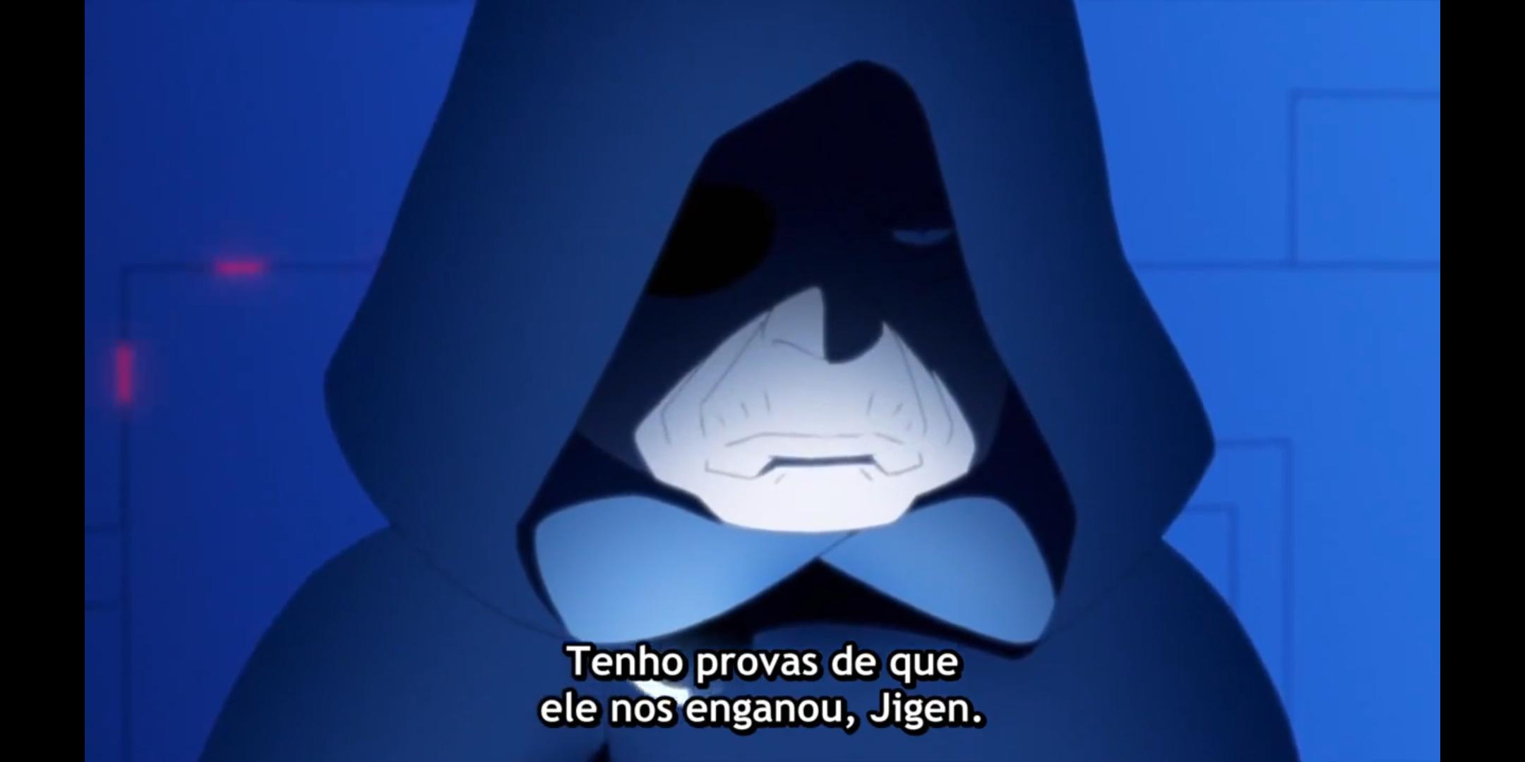 Episódio 176 de Boruto - Victor conversa com Jigen