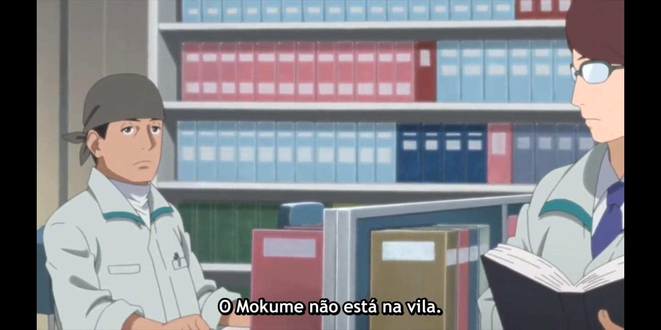Episódio 177 - Funcionário explica que Mokume não está na vila