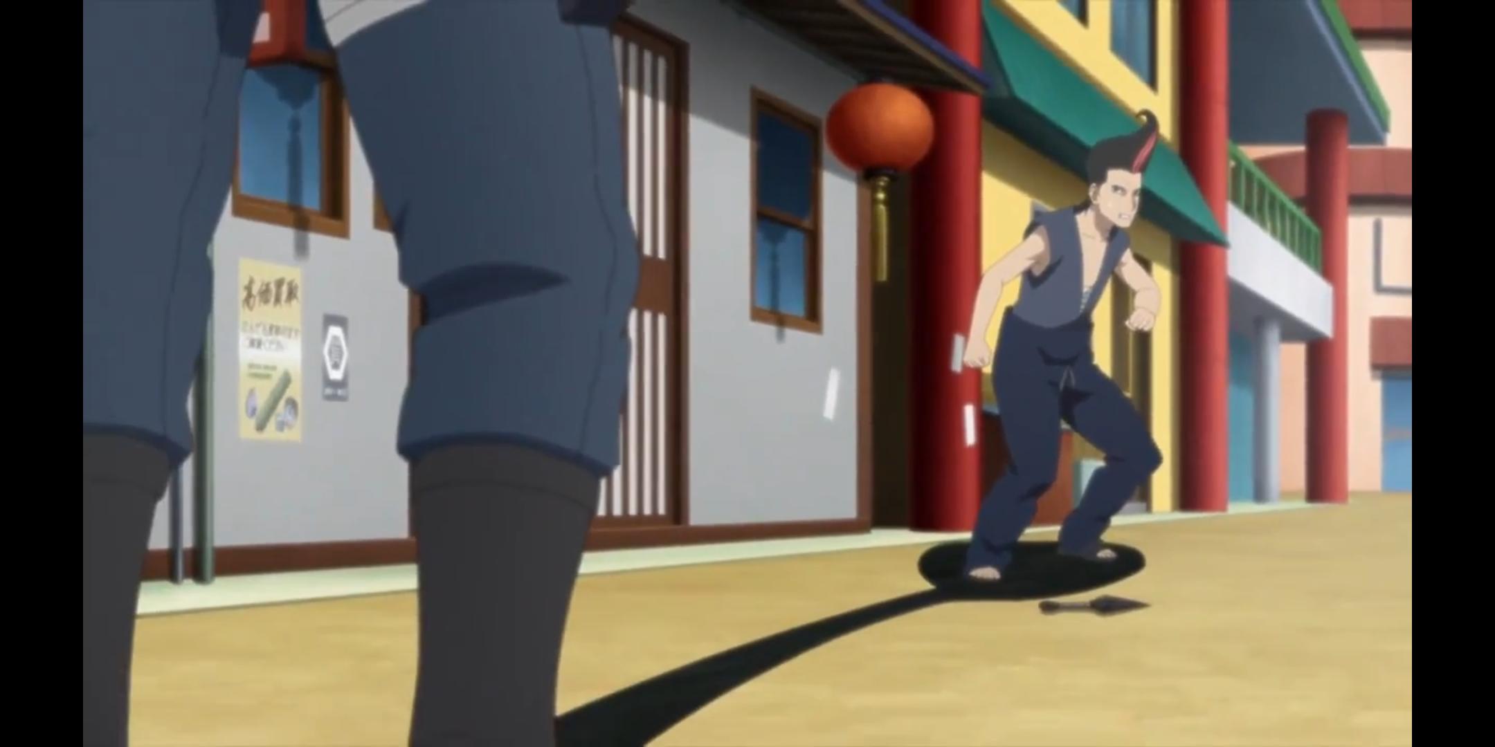 Episódio 177 - Shikadai captura criminoso