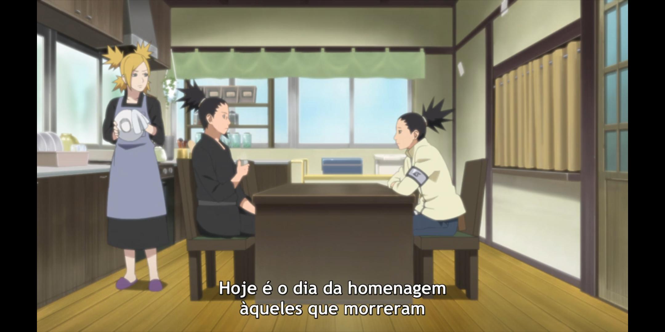 Episódio 178 - Shikamaru, Temari e Shikadai conversam