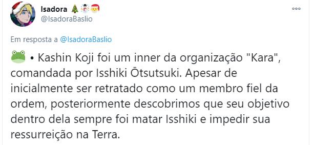 Kashin Koji inner da Kara - Isadora Baslio