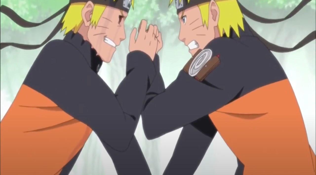 Naruto vs Dark Naruto