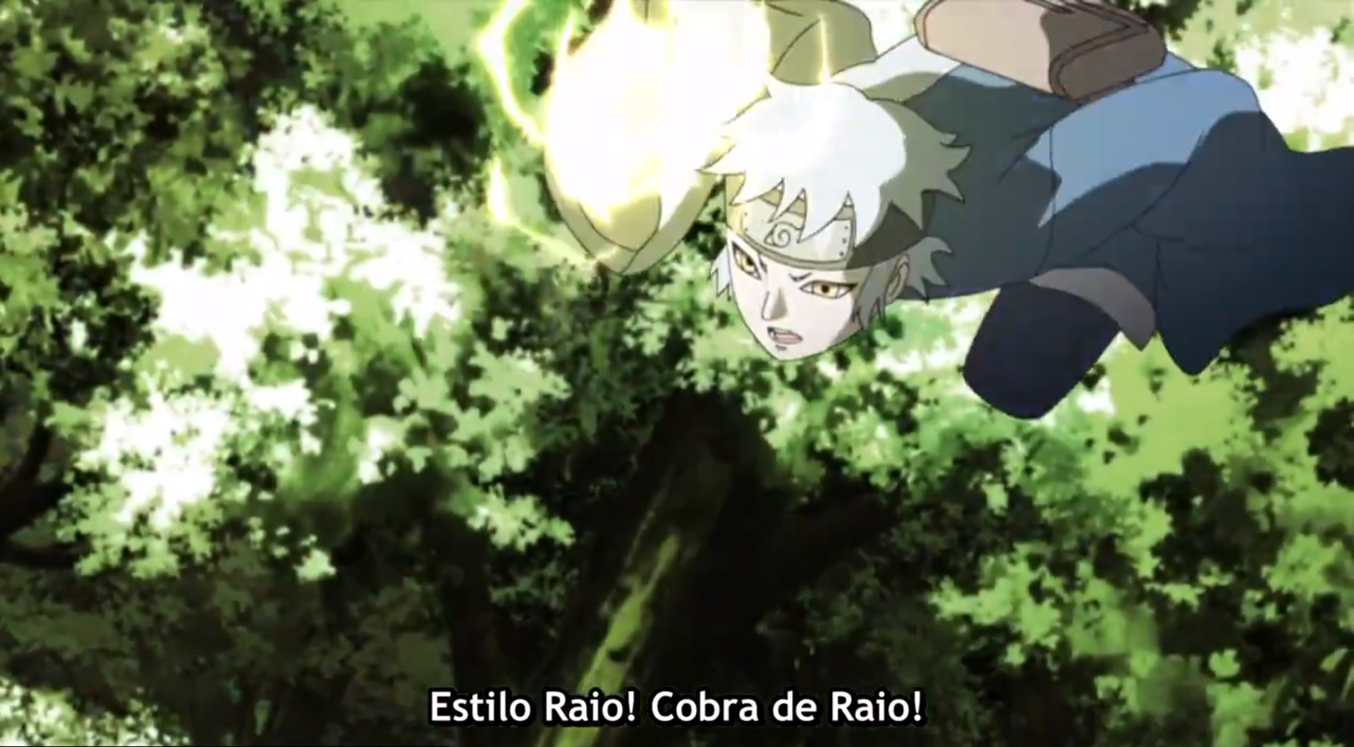 Mitsuki - Estilo Raio - Raiton