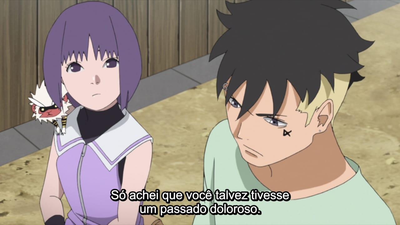 Kawaki e Sumire - episódio 191
