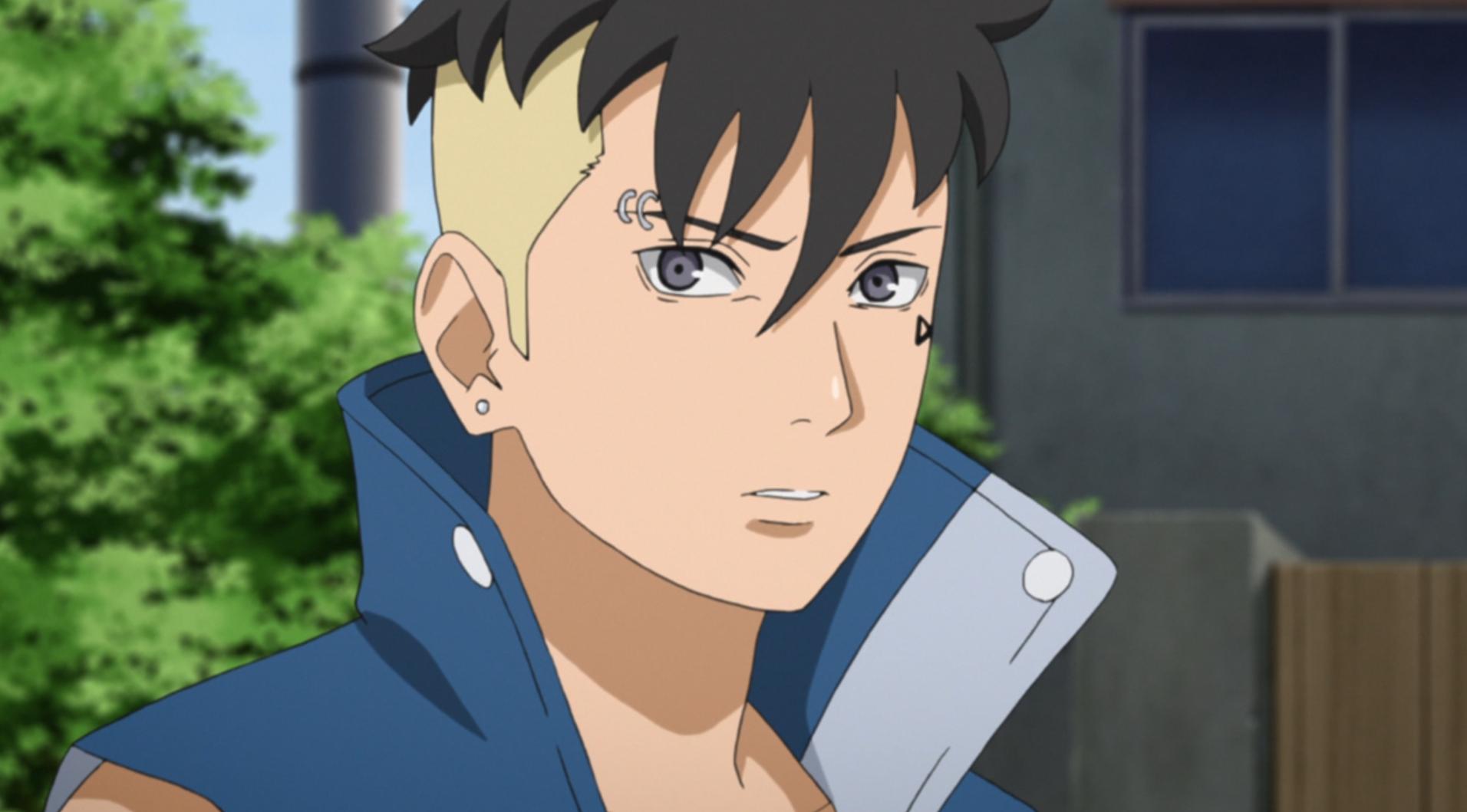 Kawaki surpreso por alguém se importar com ele (╥╥) | Boruto - Naruto Next Generation | Todos os direitos reservados