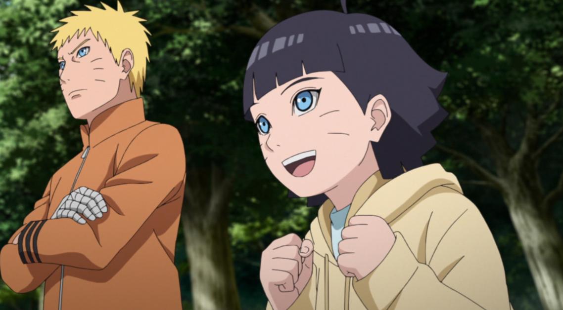 Naruto e Himawari