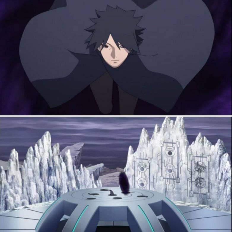 Sasuke visita dimensão misteriosa no episódio 202