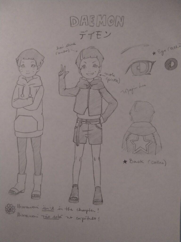 Reprodução de Daemon, novo personagem por Majin Lu. Todos os direitos reservados.